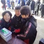 東日本大震災 復興支援募金をしています!