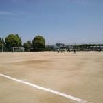 3・4年生の試合 in中丸スポーツ広場
