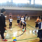 市民体育館練習訪問 2013.5.8