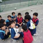 2年生作戦会議(上平北小学校にて)