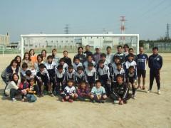 6年 親子サッカー