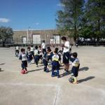 2年生の練習の様子です!とにかく暑かった!