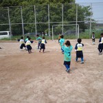 5/26 小針領家練習試合より 1年生 vs鴻巣FC