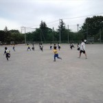 1・2年生練習試合 in上平北小学校